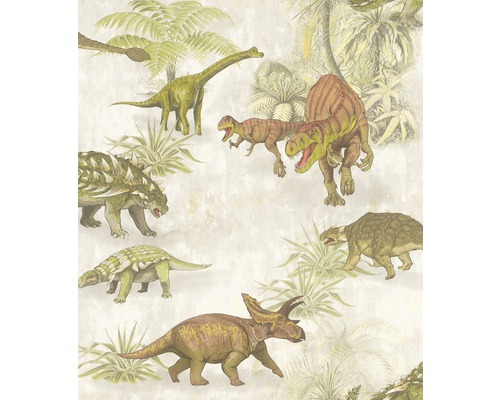 Papier peint 212808 Kids & Teens 3 Dino vert