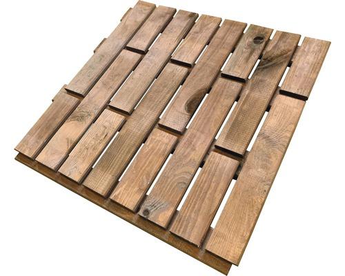 Dalle en bois 60 x 60 cm, imprégné en autoclave