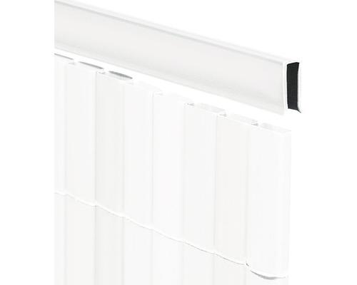 Profilé de recouvrement en U pour RÜGEN 150cm blanc