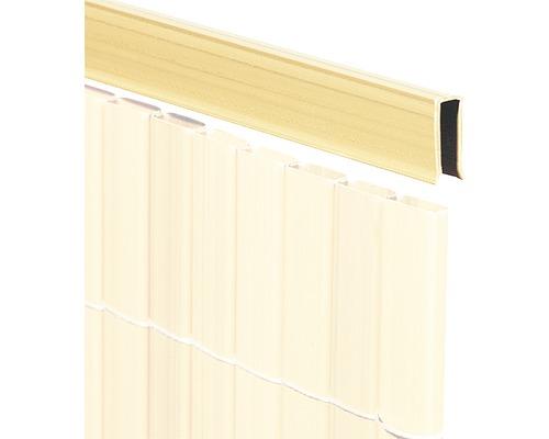 Profilé de recouvrement en U pour RÜGEN 75cm bambou