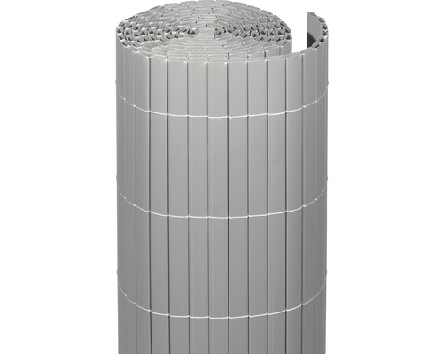 Occultation en PVC RÜGEN 180 x 300 cm aluminium
