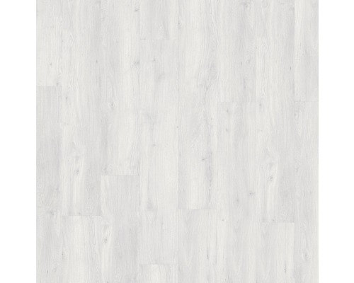 Planche vinyle Dryback Synny White, à coller, 18,4x121,9cm