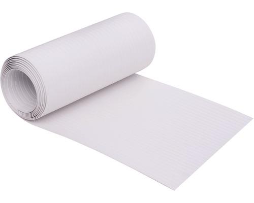Bandes occultantes plastique dur 19x200cm blanc