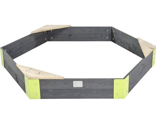 Bac à sable bois EXIT Aksent en bois 160x140 cm-0