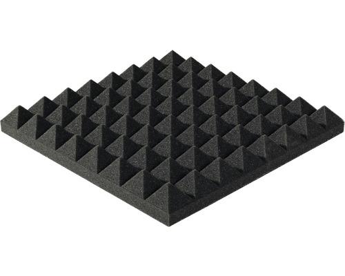 Mousse acoustique Akupur panneau à pyramides 40x40x3 cm