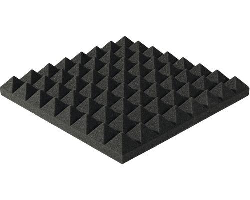 Mousse acoustique Akupur panneau à pyramides 40x40x5 cm