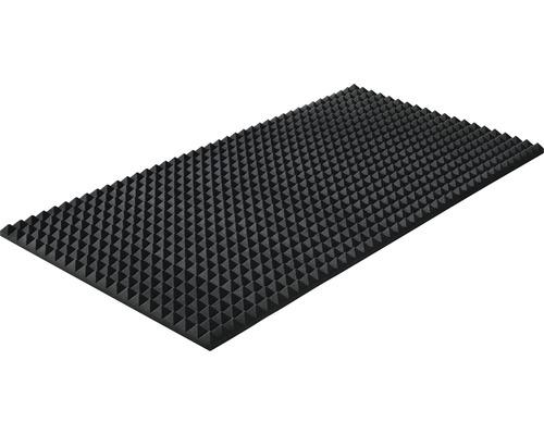 Mousse acoustique Akupur panneau à pyramides 200x100x5 cm