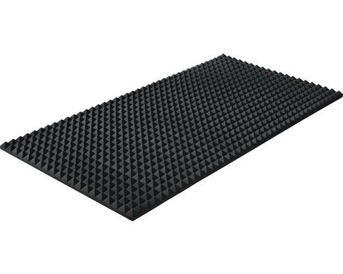 Mousse acoustique Akupur panneau à pyramides 200x100x3 cm