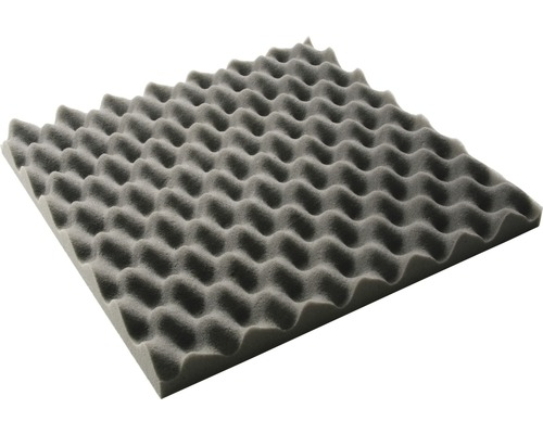 Mousse acoustique Akupur mousse à picots 400x400x30 cm