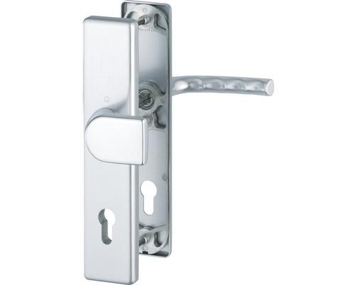 Ferrure de protection de rechange Hoppe 3958898 Birmingham 78G/2221A/2440/1117 distance entre les trous 92mm, argent