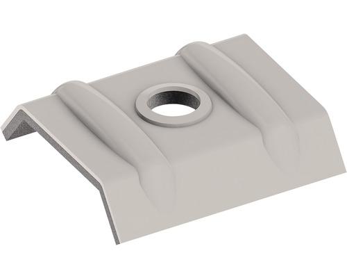 Clip de fixation PRECIT pour panneaux sandwich RAL 9002 gris blanc paquet =10 pièces