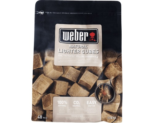 Cube allume-feu Weber écologique 48pces-0