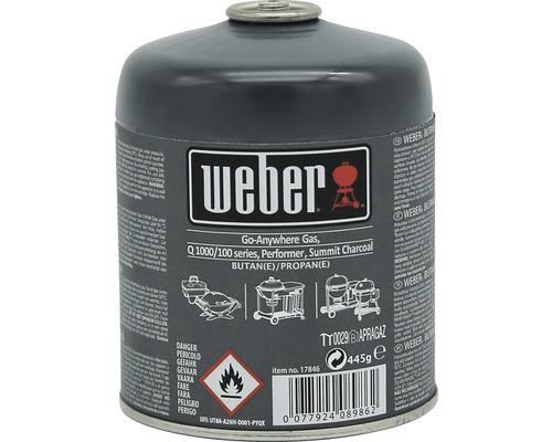 Cartouche de gaz Weber Go-Anywhere 445g