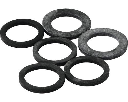 Sortiment Gummi-Ringe 6 Stück