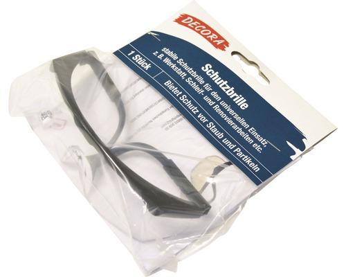 Lunettes de protection en plastique noires