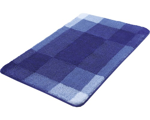 Badteppich Kleine Wolke Mix Marineblau 70 x 120 cm