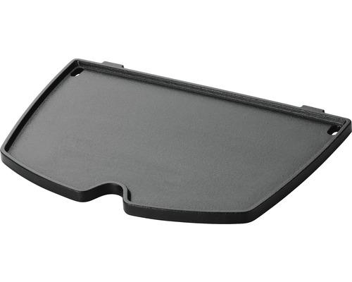 Plancha plaque en fonte Weber pour Q1000 / Q1400 fonte émaillée en porcelaine avec ouvertures pour évacuation de la graisse