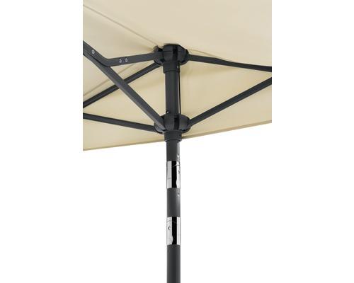 Parasol Schneider Salerno Mezzo 150x150cm naturel