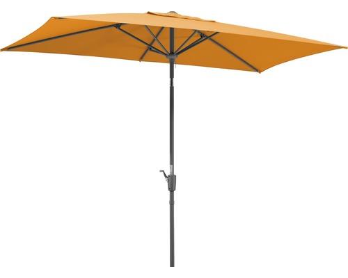 Parasol Schneider Tunis 270 x 150 cm mandarine