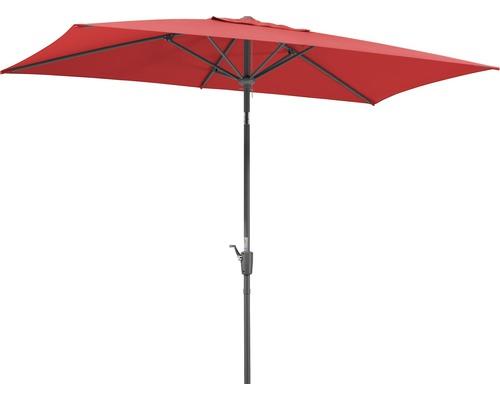 Parasol Schneider Tunis 270 x 150 cm rouge