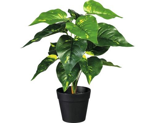 Plante artificielle pothos en pot h 32cm vert