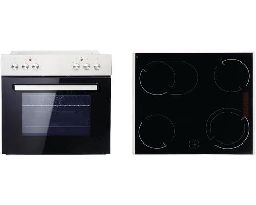 Ensemble cuisinière PKM BIC7-2KB GK-IX4 volume utile 76l avec plaque de cuisson vitrocéramique