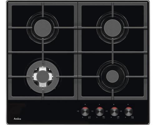 Table de cuisson au gaz Amica KMG 13174 C largeur 60cm