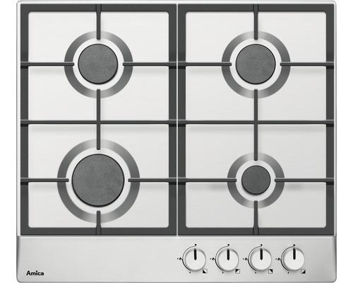 Table de cuisson au gaz Amica KMG 13159 E largeur 60cm