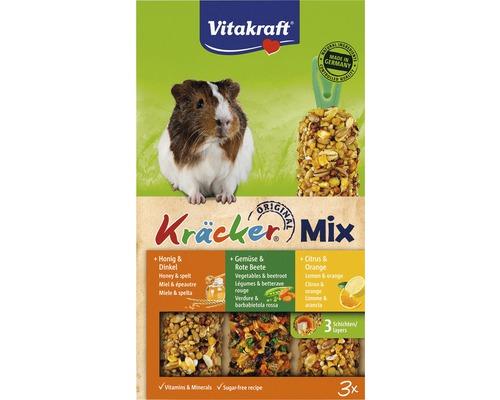 Friandise Vitakraft Kräcker® mélange de 3 variétés pour cochons d''Inde, 164g