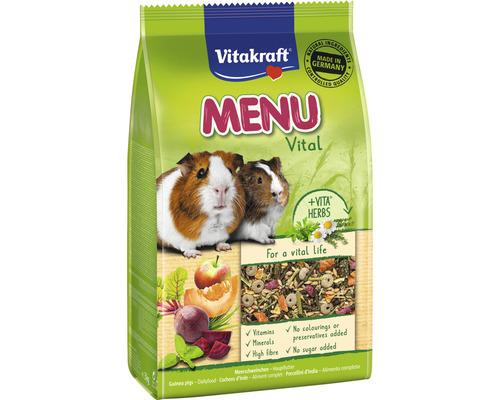 Snack pour rongeurs Vitakraft menu Vital pour cochon d''Inde, 3 kg
