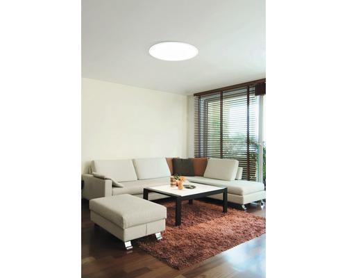 Plafonnier LED à intensité lumineuse variable 34W 4250 lm 2700- 6500 K blanc chaud - blanc naturel RGBW CCT blanc hxØ 50x600 mm