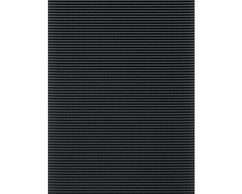 Tapis antidérapant en mousse souple noir largeur 65 cm (au mètre)
