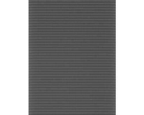 Tapis antidérapant en mousse souple gris, largeur 130 cm (au mètre)