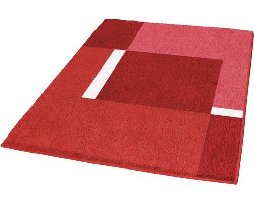 Badteppich Kleine Wolke Dakota rubin 70 x 120 cm