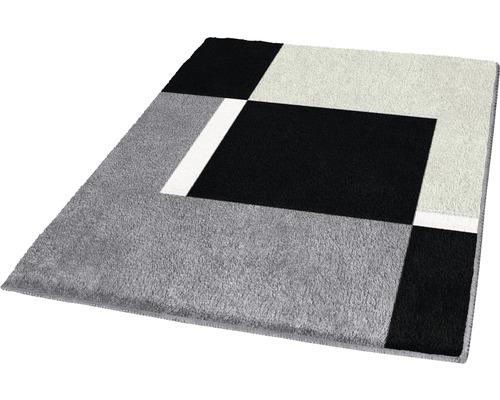 Badteppich Kleine Wolke Dakota platin 55 x 65 cm