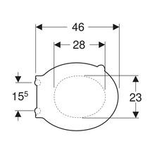 Siège WC Keramag/GEBERIT Renova Comfort blanc 500679011-thumb-1