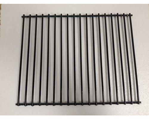 Grille à charbon foyer latéral Tenneker® pour TC Smoker L acier noir