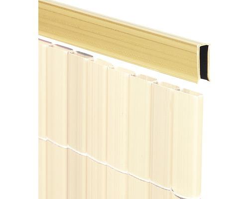 Profilé de recouvrement en U pour RÜGEN 150cm bambou