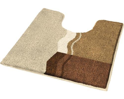 Badteppich Kleine Wolke Vanessa Rehbraun 55 x 55 cm mit Ausschnitt