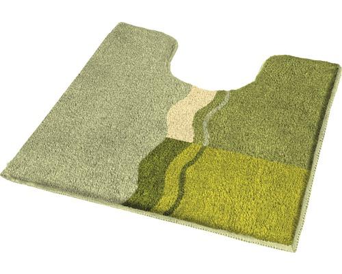 Badteppich Kleine Wolke Vanessa Palme 55 x 55 cm mit Ausschnitt