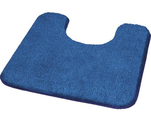 Badteppich Kleine Wolke Wilna Sor.-Azurblau 55 x 55 cm mit Ausschnitt