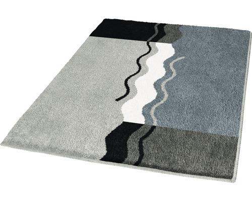 Badteppich Kleine Wolke Vanessa Platin 60 x 100 cm