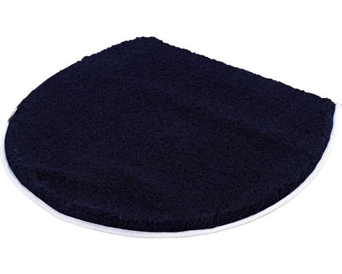 WC-Deckelbezug Kleine Wolke Soft Dunkelblau 47 x 50 cm
