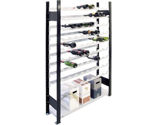 Étagère à vin, étagère de base Schulte 2300x1000x250 mm