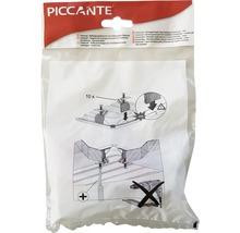 Matériel de fixation pour éviers en acier inoxydable PICCANTE (composé de 10 pinces)-thumb-2