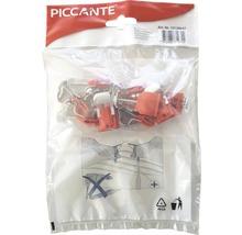 Matériel de fixation pour éviers en acier inoxydable PICCANTE (composé de 10 pinces)-thumb-0