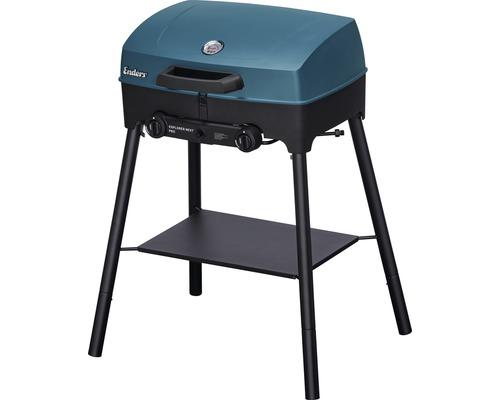 Barbecue de table Enders Explorer Next Pro 2 brûleurs 50 mbar bleu avec lèchefrite extractible