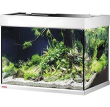 Kit complet d''aquarium EHEIM proximaTEC 175 avec filtres, éclairage LED, chauffage, meuble bas blanc-thumb-1