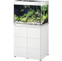 Kit complet d''aquarium EHEIM proximaTEC 175 avec filtres, éclairage LED, chauffage, meuble bas blanc-thumb-0