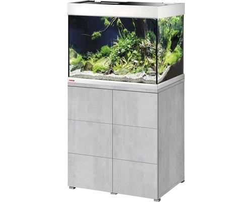 Kit complet d''aquarium EHEIM proximaTEC 175 avec filtres, éclairage LED, chauffage, meuble bas urban
